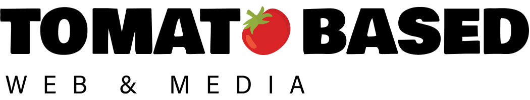 Tomato Based Web & Media Logo